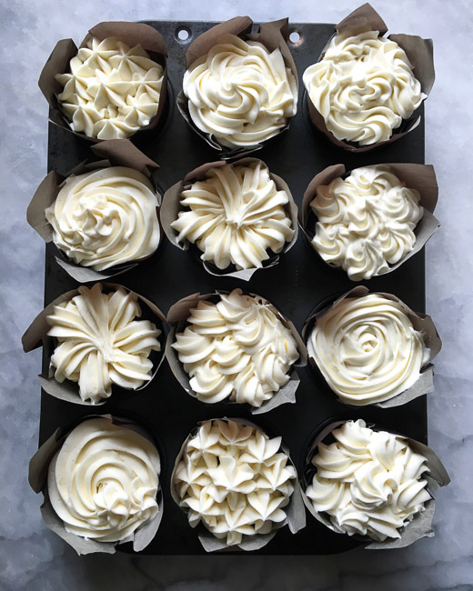 Devil's Food Cupcakes with Cream Cheese Icing | photo by Zoë François