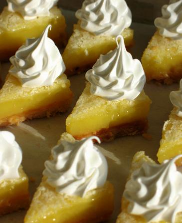 Lemon Meringue Bars
