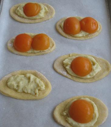 Sunny-Side-Up Apricot Pastry    ZoëBakes   Photo by Zoë François