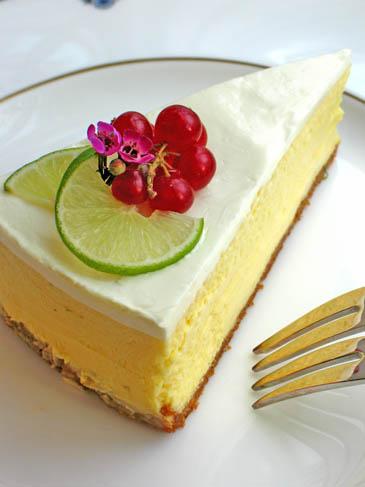 Key Lime Cheesecake | ZoëBakes | Photo by Zoë François