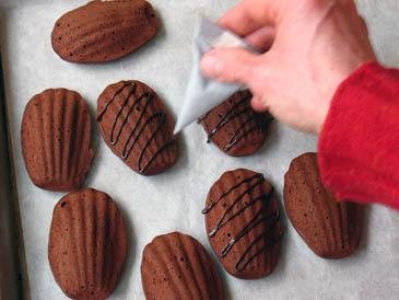 Dark Chocolate Madeleines | ZoëBakes | Photo by Zoë François