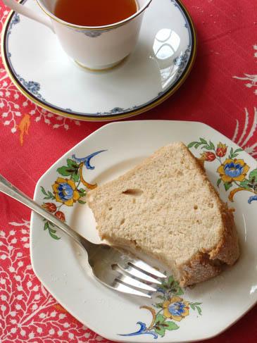 English Breakfast Tea Angel Food Cake | ZoëBakes | Photo by Zoë François