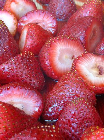 Balsamic Roasted Strawberries | ZoëBakes | Photo by Zoë François