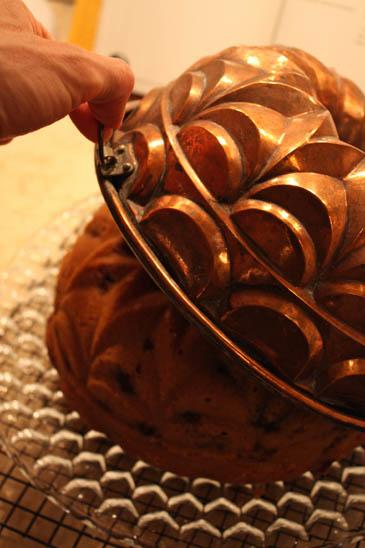 Orange Blossom Honey Cake with Blueberries | ZoëBakes | Photo by Zoë François