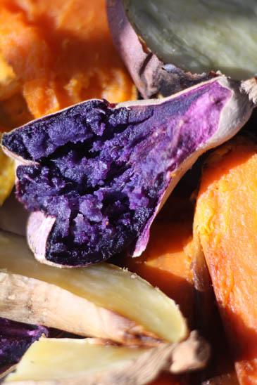 Purple baked sweet potato | Sweet potato vs yam debate