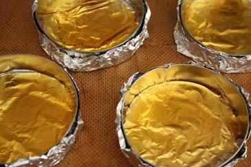 Molds for polenta pineapple upside-down cake | ZoëBakes | Photo by Zoë François