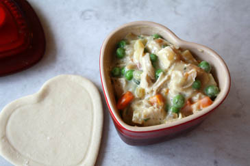 Chicken Pot Pie with Homemade Puff Pastry How to make puff pastry | ZoëBakes | Photo by Zoë François
