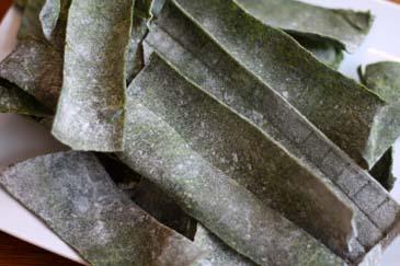 Dried spinach pasta | ZoëBakes | Photo by Zoë François