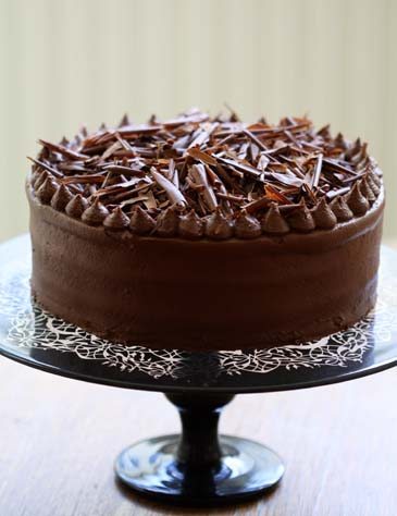Chocolate cake recipe | ZoëBakes | Photo by Zoë François