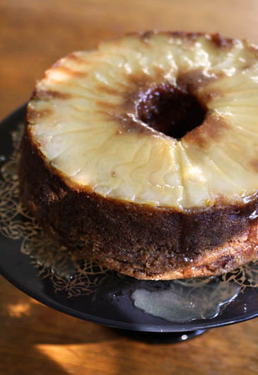 Caramel apple and pear cake recipe | ZoëBakes | Photo by Zoë François