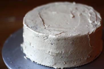 Iced marble cake | ZoëBakes | Photo by Zoë François