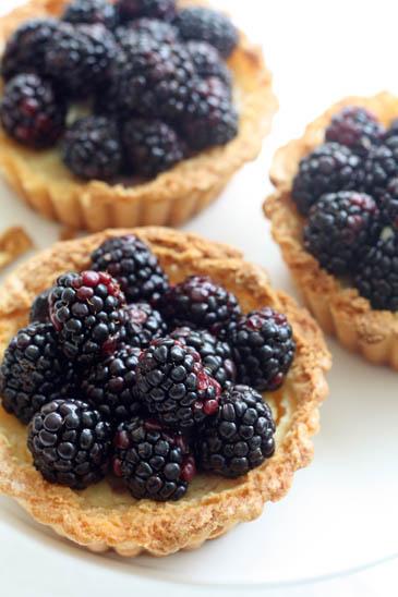 Blackberry ricotta tarts | ZoëBakes | Photo by Zoë François