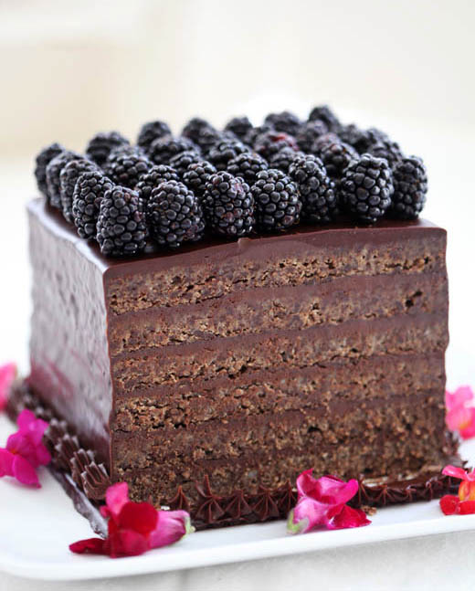 Flourless Chocolate Torte Recipe | ZoëBakes | Photo by Zoë François