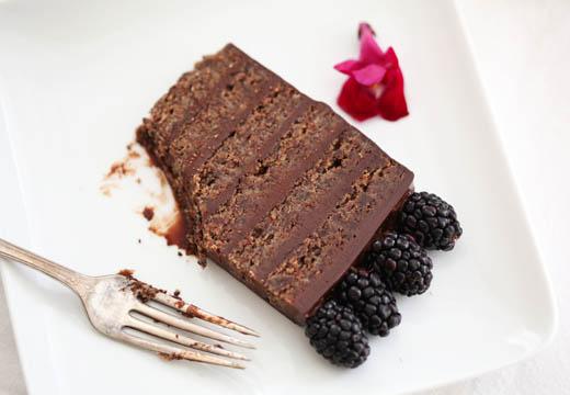 Flourless Chocolate Torte Slice   ZoëBakes   Photo by Zoë François