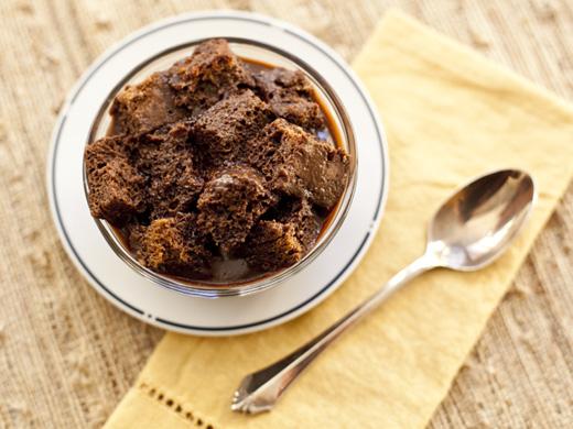Chocolate banana bread pudding | ZoëBakes | Photo by Zoë François