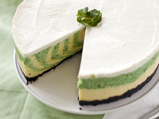 """St. Patrick's Day"", ""Mint Cheesecake"""