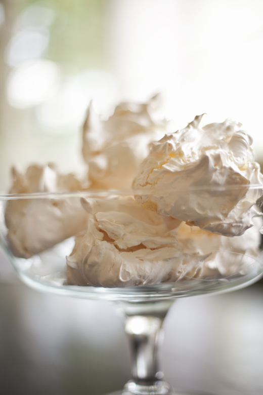 Homemade meringues | ZoëBakes | Photo by Zoë François