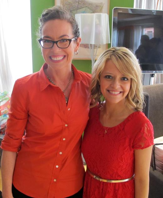 Kelsey Nixon and Zoe Francois