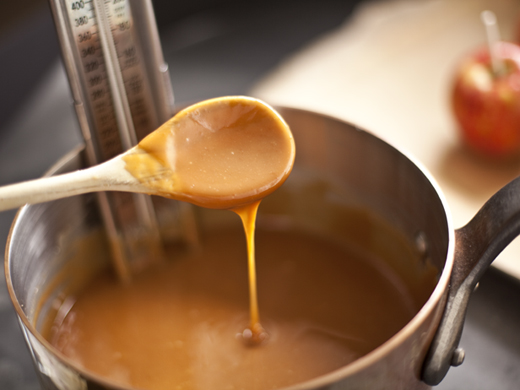 Homemade caramel | ZoëBakes | Photo by Zoë François