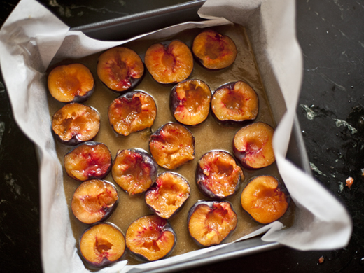 Black Velvet Apricots in a square pan | ZoëBakes | Photo by Zoë François