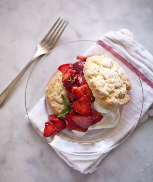Strawberry Shortcake Recipe | ZoëBakes | Photo by Zoë François