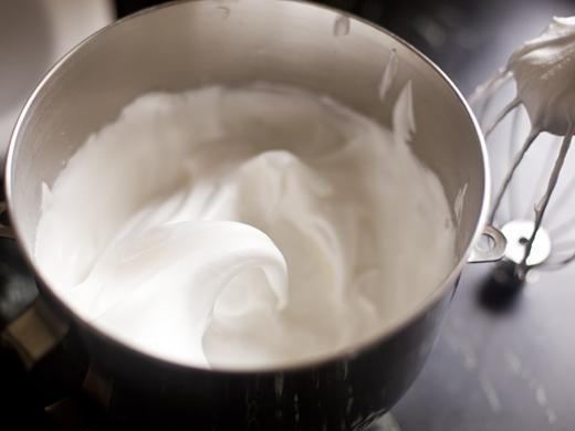Egg Foam in a Mixing Bowl | photo by Zoë François