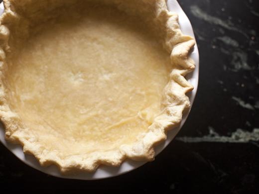 Baked Pie Crust | ZoeBakes | Photo by Zoë François