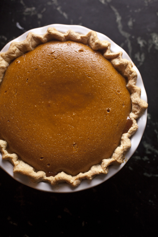 Caramel Apple Pumpkin Pie | ZoeBakes | Photo by Zoë François