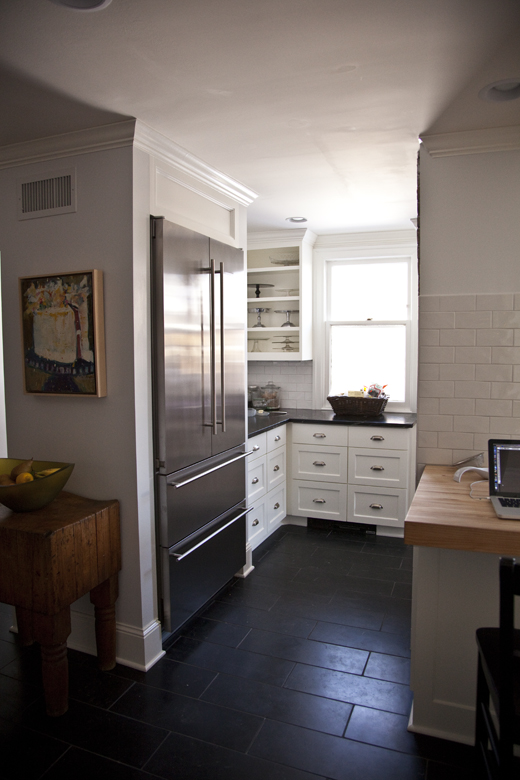 my kitchen remodel before and after   ZoeBakes photo by Zoë François