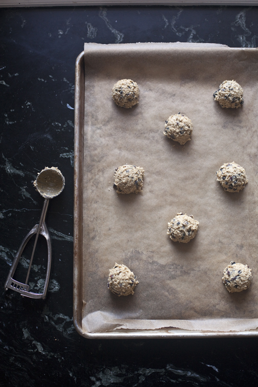 Preparing gluten-free oatmeal cookies | ZoëBakes | Photo by Zoë François