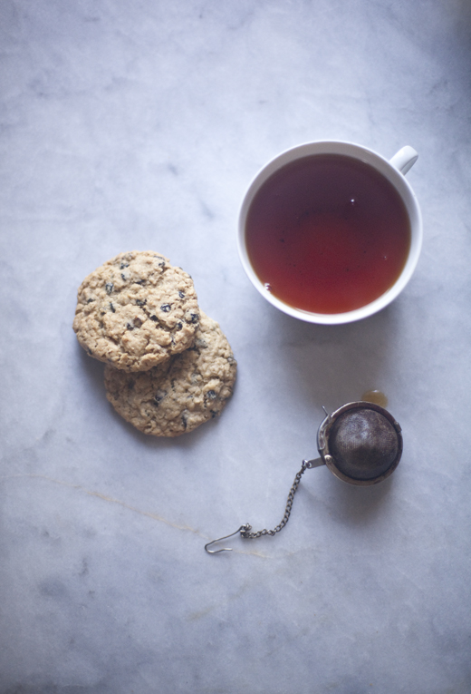 Gluten-free oatmeal cookies and tea   ZoëBakes   Photo by Zoë François
