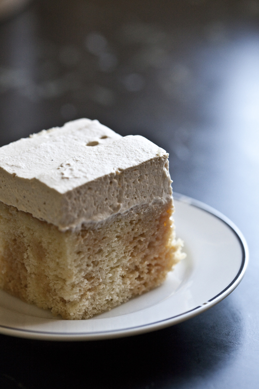 Slice of Coffee Caramel Tres Leches | ZoëBakes | Photo by Zoë François
