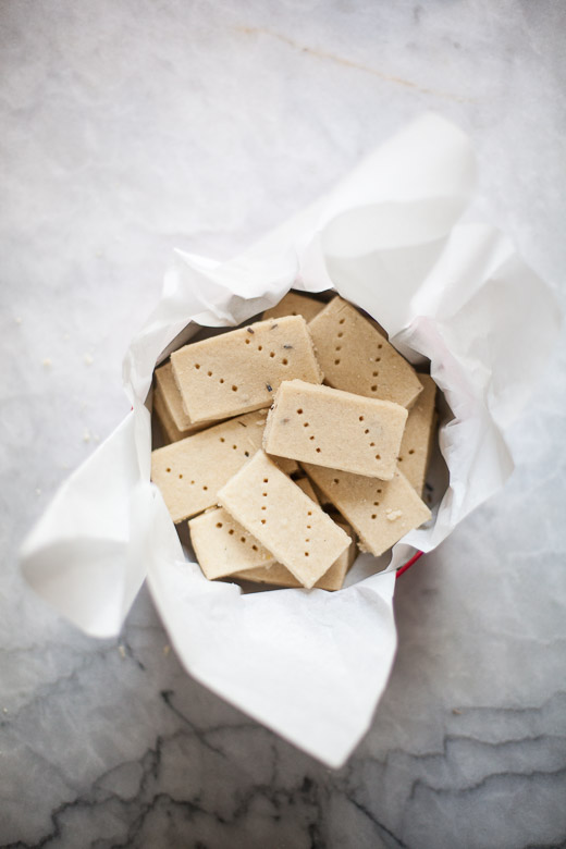 Lemon Lavender Shortbread | ZoeBakes (1 of 17)