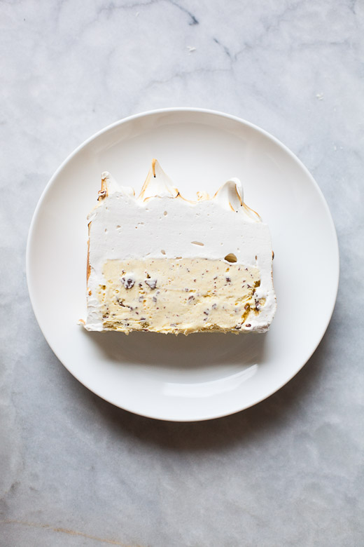 Slice of Ice Cream Cake | ZoëBakes | Photo by Zoë François
