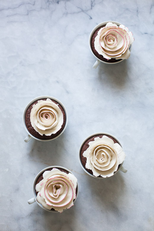 Tea Cup Rose Cakes   ZoeBakes (4 of 21)