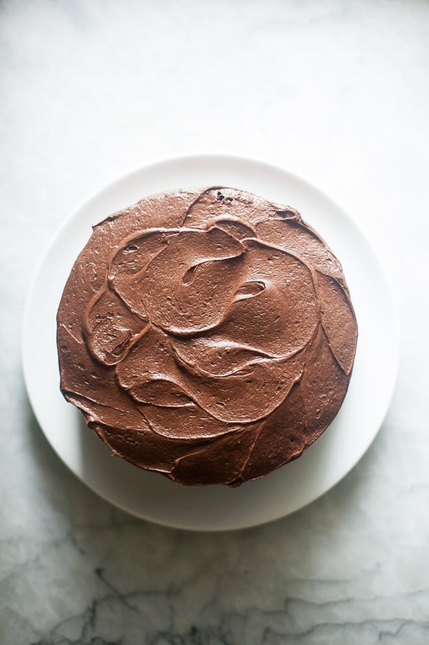 Special Chocolate Orange Cake | Photo by Zoë François