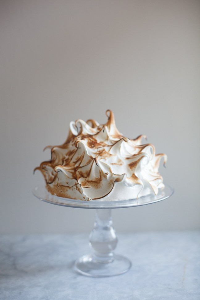 Coffee, Bourbon & Chocolate Baked Alaska | ZoeBakes photo by Zoë François