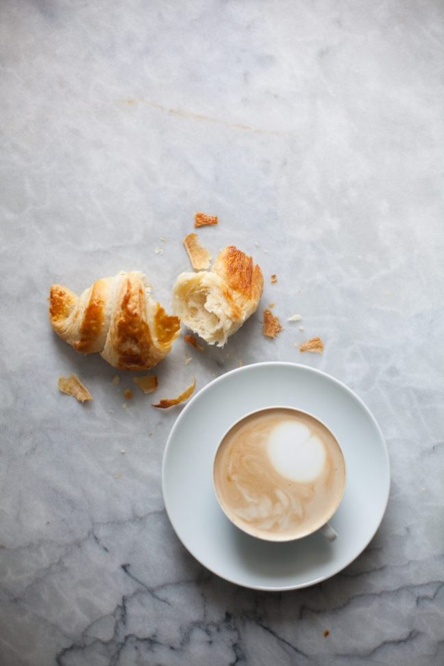 Croissants and coffee | Photo by Zoë François