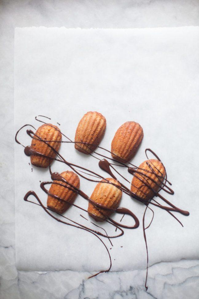 Chestnut Madeleines | Zoe Bakes photos by Zoë François