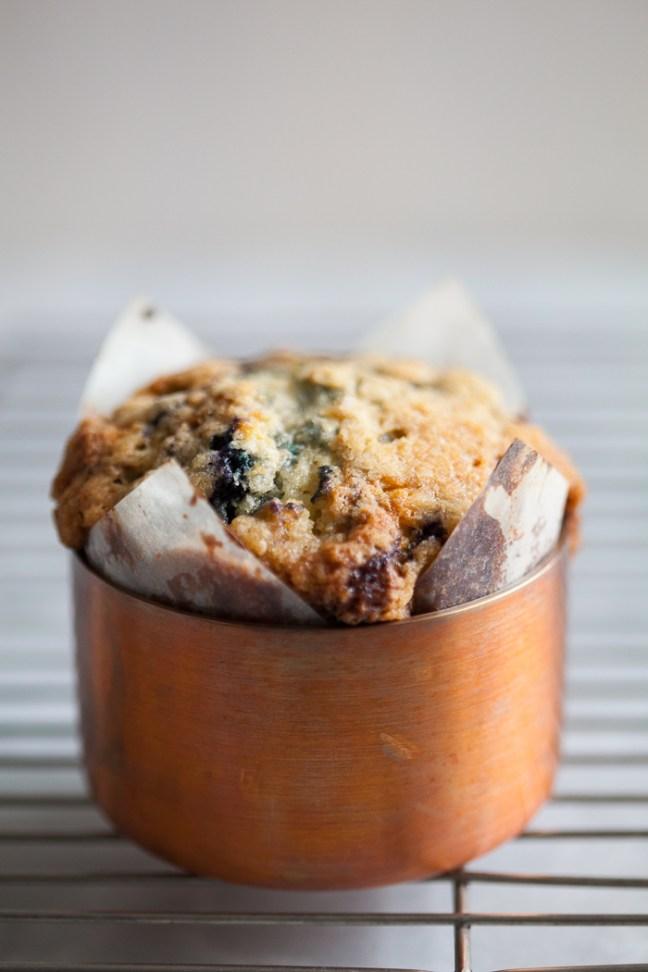 Blueberry Muffins | ZoeBakes photo by Zoë Francois