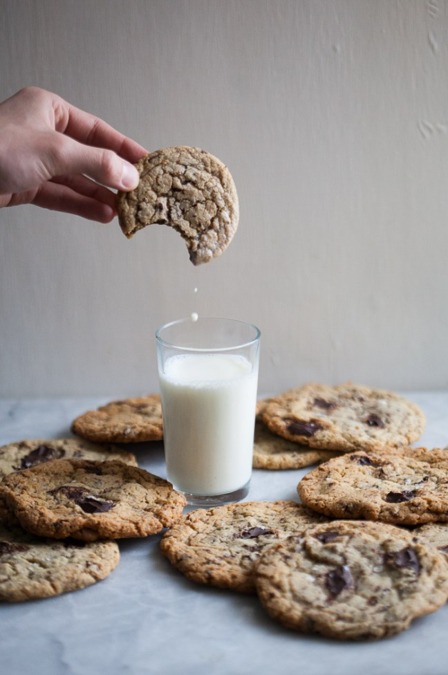 Chocolate Chip Cookies 101 | Everything you need to make the best chocolate chip cookies ever. | ZoeBakes photo by Zoë François