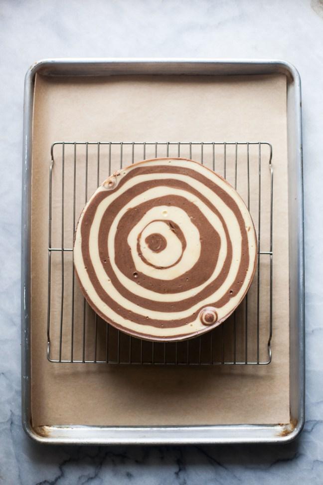 Maida Heatter Bull's Eye Cheesecake | ZoeBakes photo by Zoë François