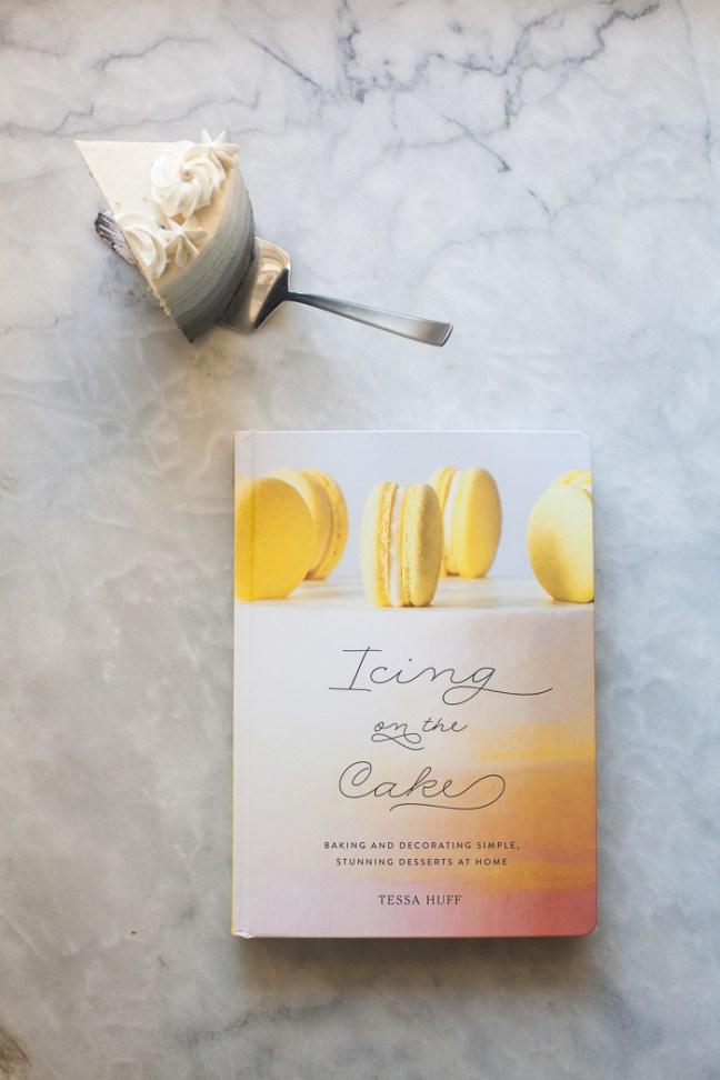 Silver Ombre Cake | ZoeBakes photo by Zoë François