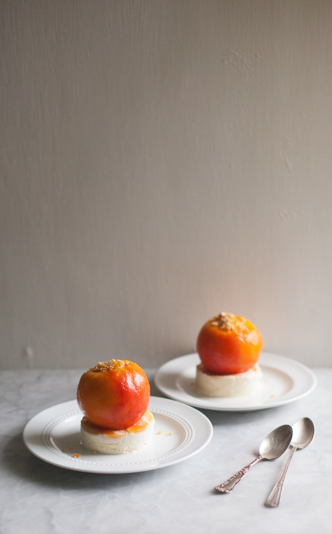 Peach Melba | ZoeBakes photo by Zoë François