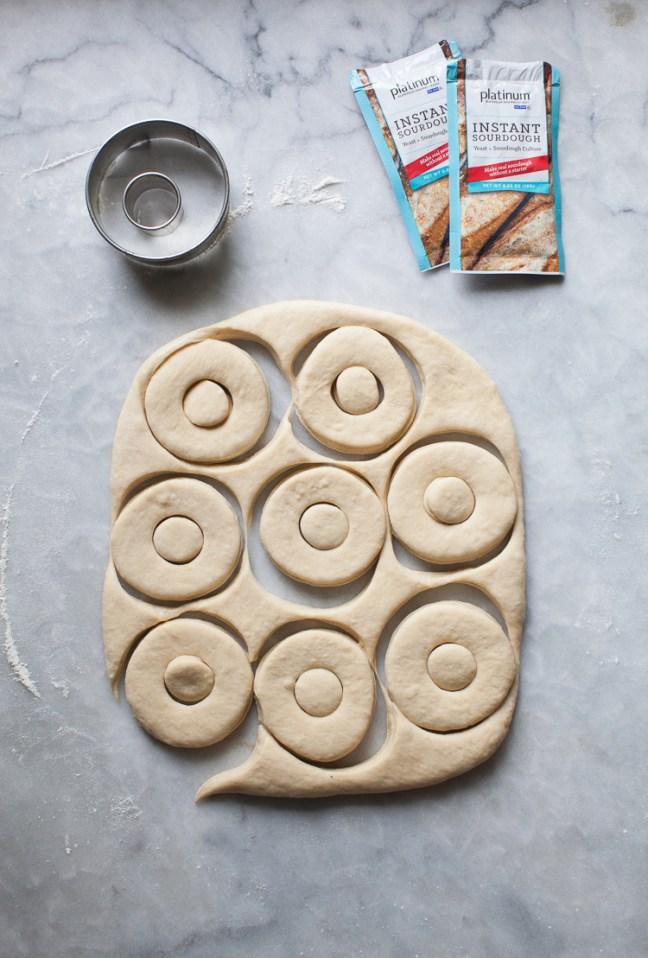 Instant Sourdough Doughnuts | ZoëBakes | Photo by Zoë François