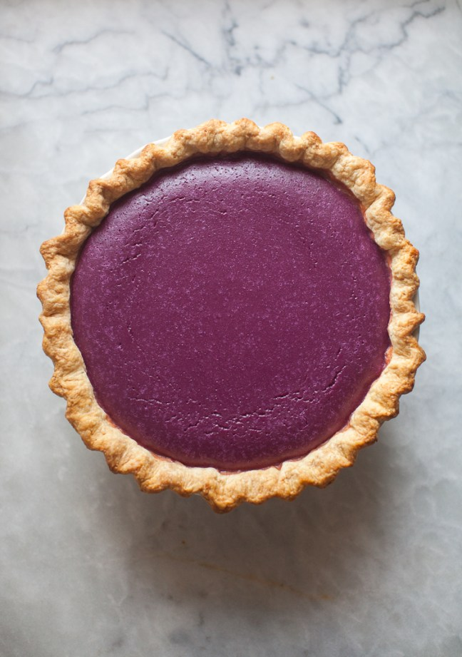 Purple Sweet Potato Pie | ZoeBakes photo by Zoë François