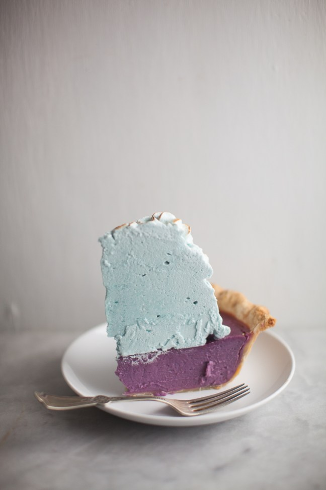 Purple Sweet Potato Pie | ZoeBakes photo by Zoë François