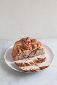 Raspberry Swirl Do-It-All Dough