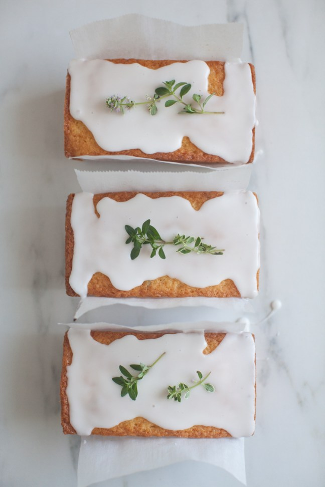 Lemon Ricotta Cakes with Thyme Recipe | ZoeBakes
