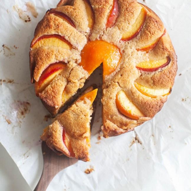 Peach Rye Cake
